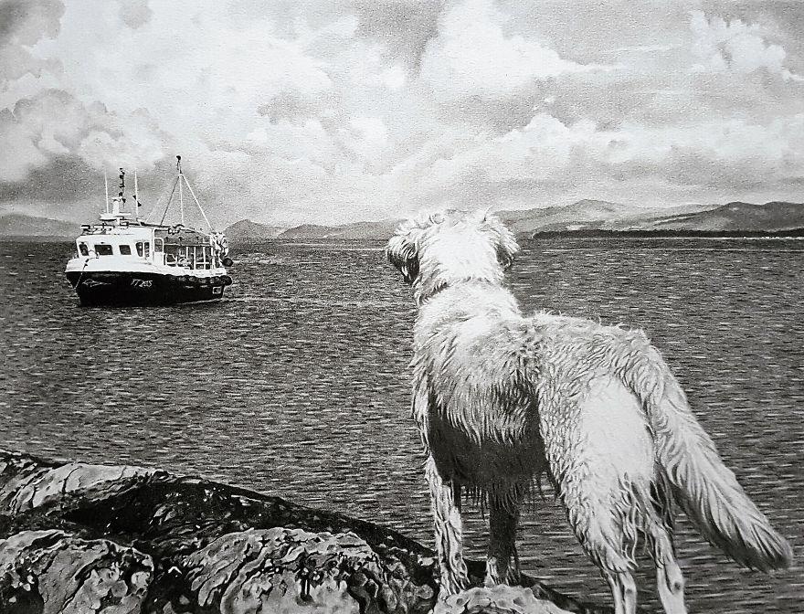 Alfie On The Pier