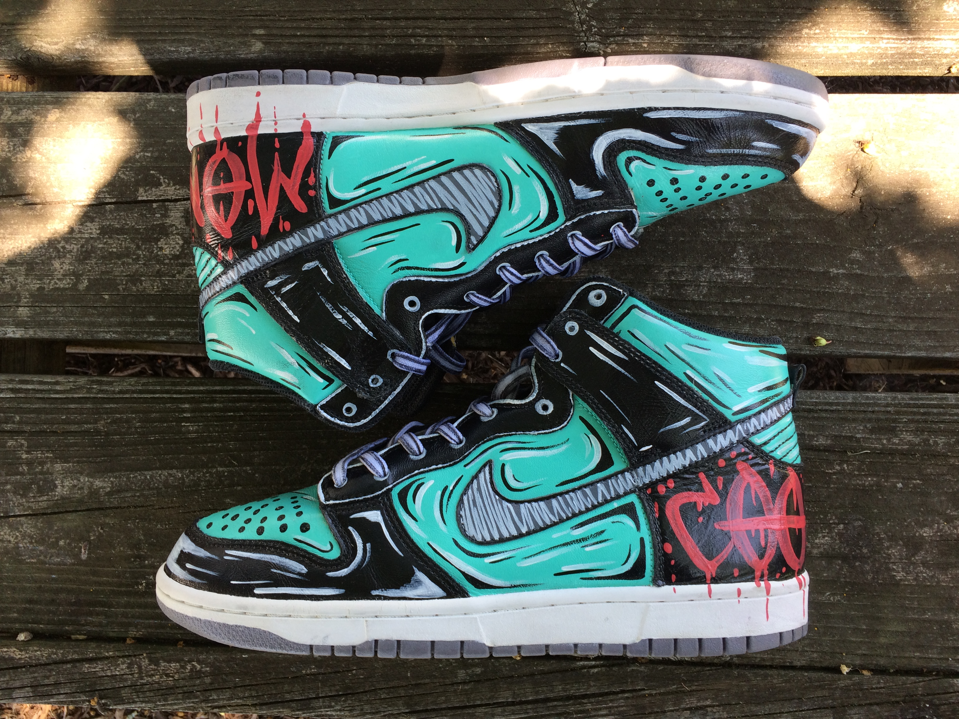 I Turned My $22 Sneakers Into Pop Art