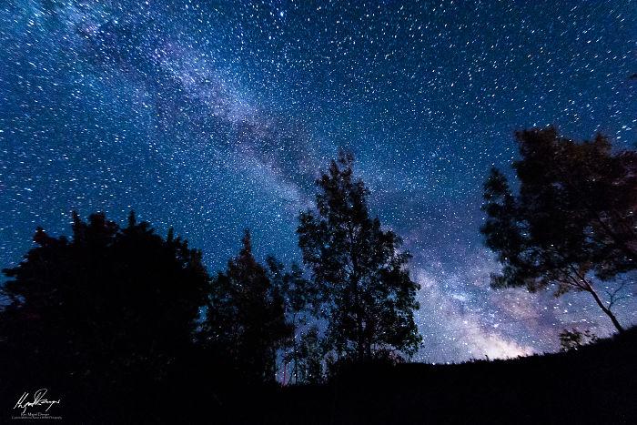 Milky Way Over Union Bay, Michigan
