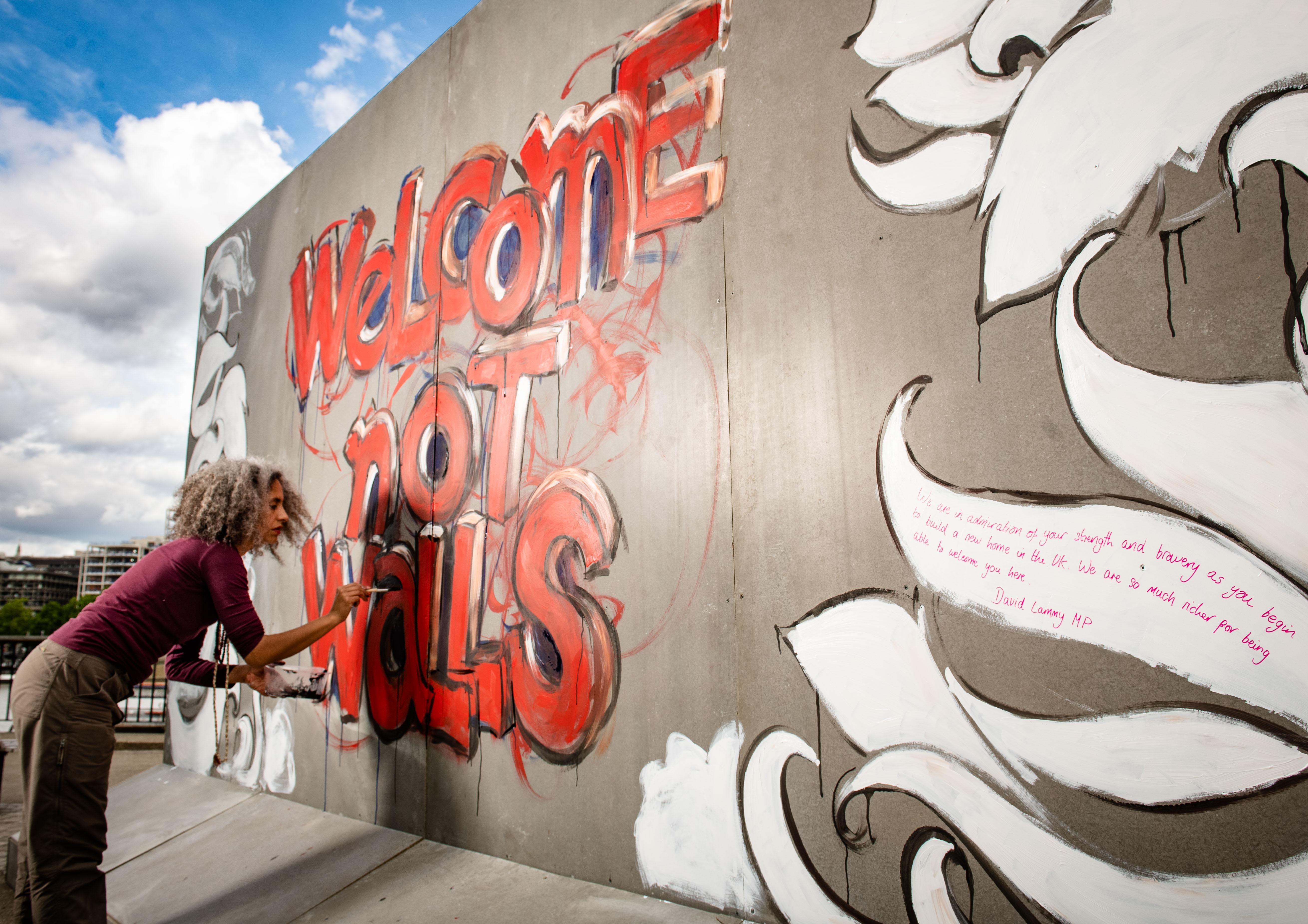 Ben & Jerry's Welcome Not Walls Manchester