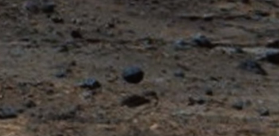 The Mars Rover Caught A Proper Real Metal Sphere Or Ball On Mars And That's For Real