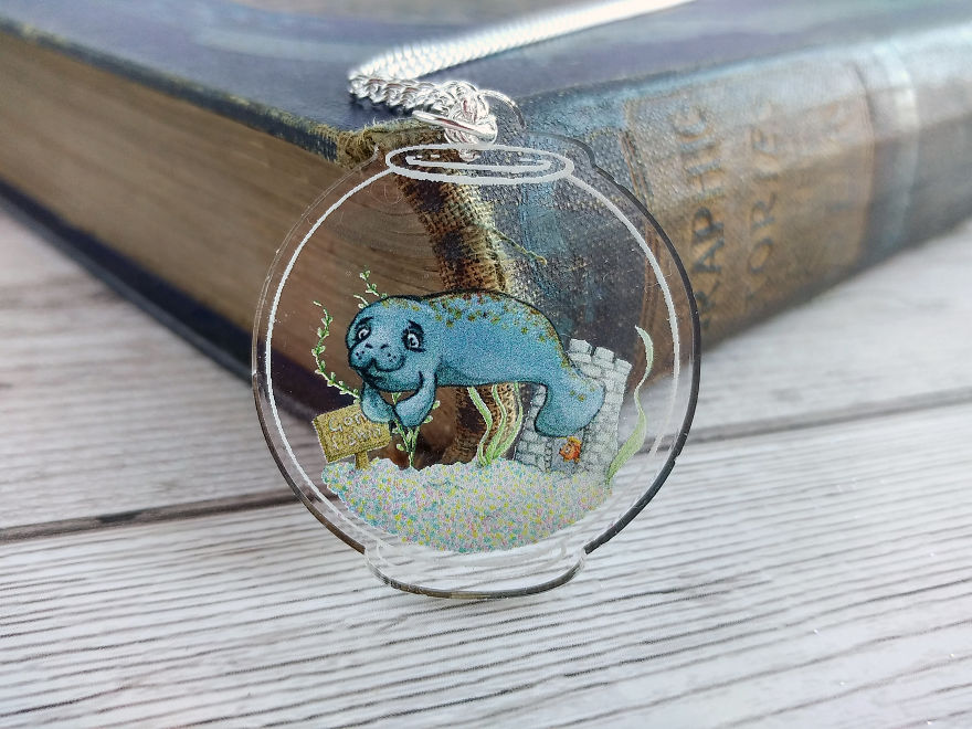 Manatee In A Fishbowl