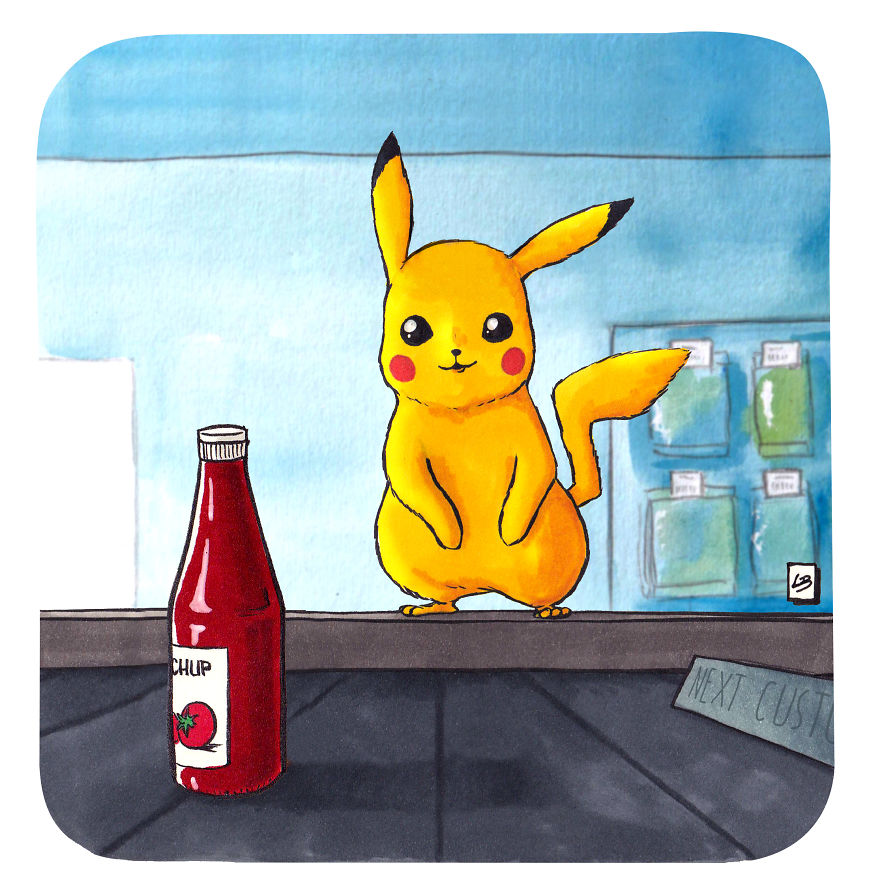 Pikachu And Ketchup