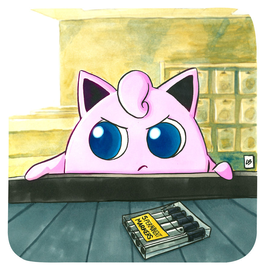 Jigglypuff And Markers