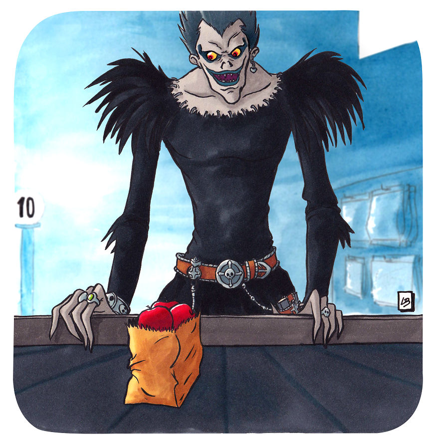 Ryuk And Apples