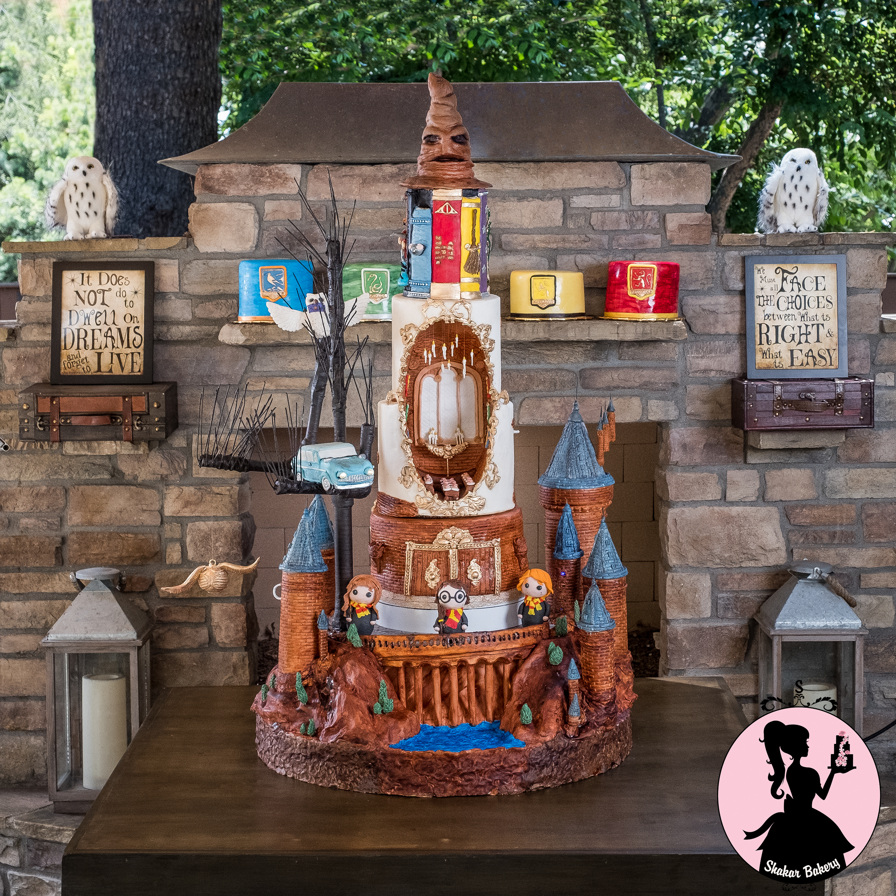 Harry Potter Cake Is Every Potterhead's Dream And Actually Moves!