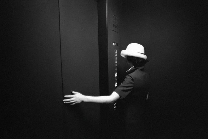 Department Store Elevator Operator, 1977