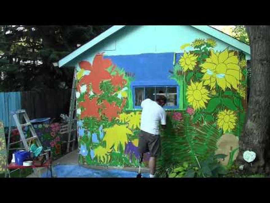 Wildflower/Flight Of The Bumblebee Mural