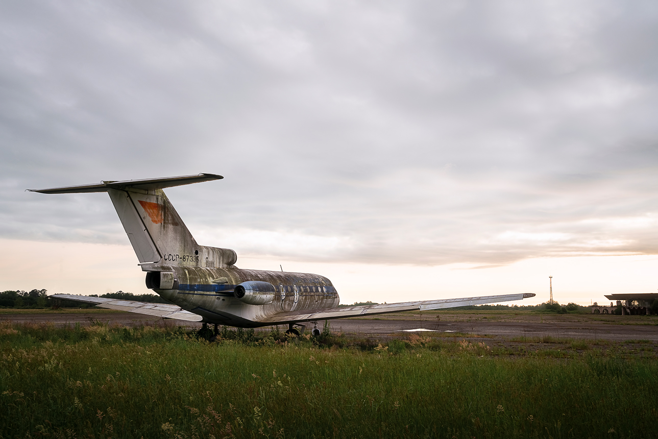 I Photographed An Abandoned Airport In Abkhazia