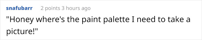 People Call Out This Woman Because Her Palette Doesn't Change, She Responds By Saying She Has Been Painting Since Childhood