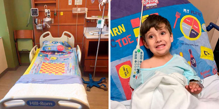 Dad Turns Board Games Into Sheets To Help Children In Hospital Pass Time