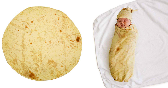 Amazon Is Selling A Swaddling Blanket That Lets You Wrap Your Baby Into A Little Burrito