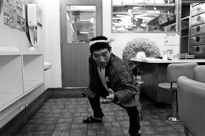 Jakuza Greeting, Mr. Donuts, 1979