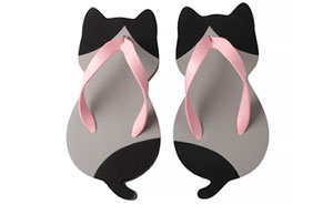 These Cat-Shaped Sandals Were Created By A Japanese Company, And They Look Adorable