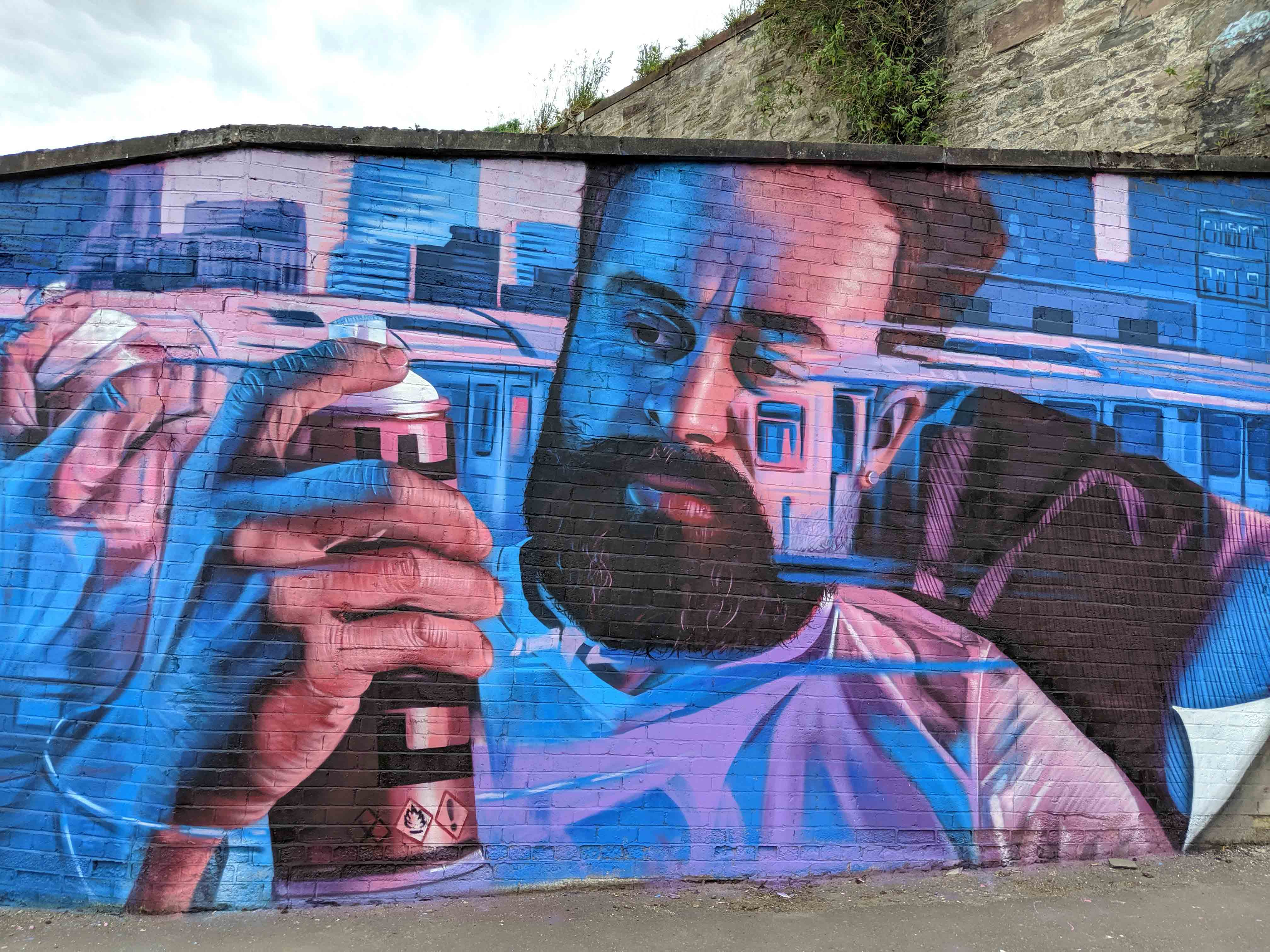 New Mural By Chisme