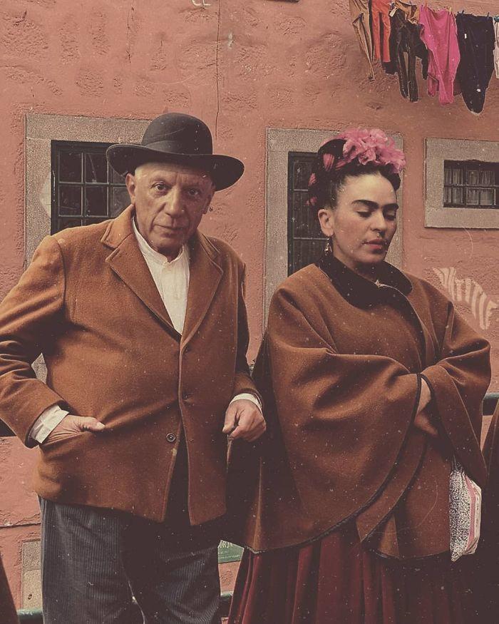 Frida Kahlo And Pablo Picasso
