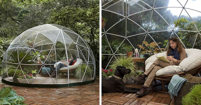 You Can Buy A Garden Igloo On Amazon For $1,199