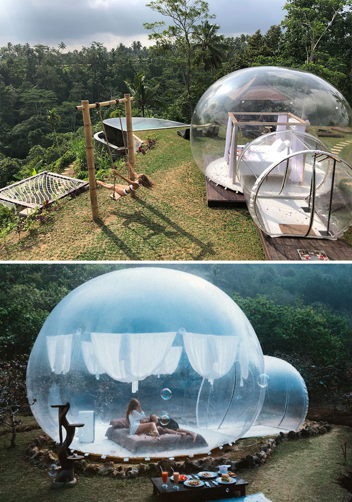 Romantic Bubble Tent In Tampaksiring, Bali