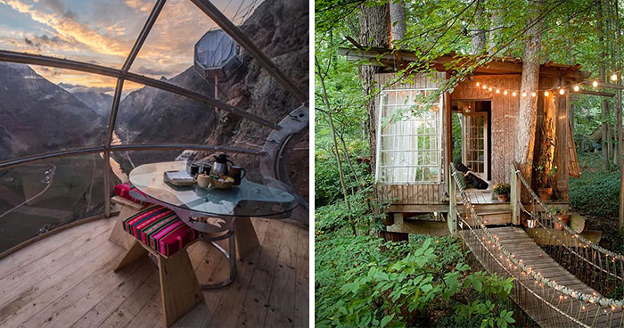 25 Most Unique Airbnbs Around The World