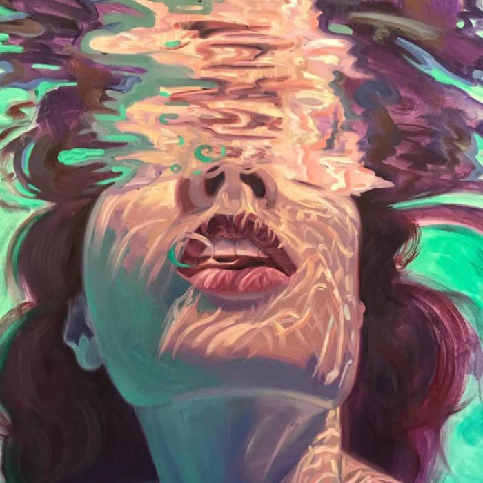 Californian Artist Isabel Emrich Paints Dazzling Depictions Of Women Submerged Underwater