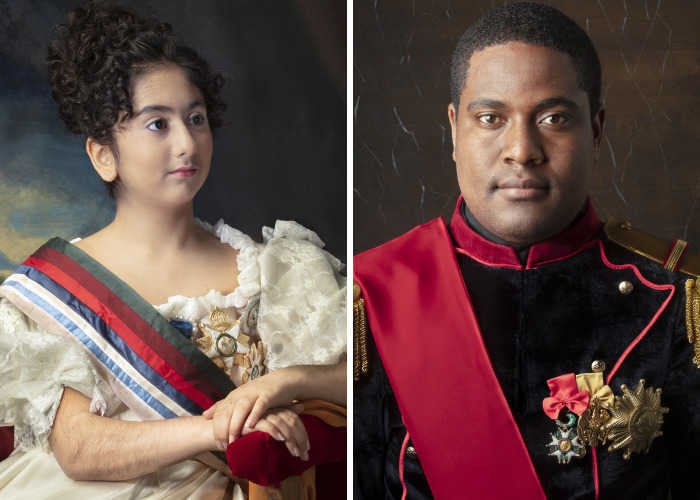 I Reconstruct Historical Portraits Of Monarchs With Refugees