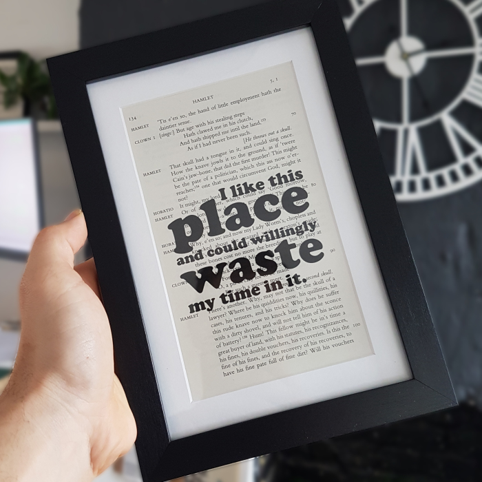 I Created A Range Of Shakespeare Quotes As Gifts For Book Lovers