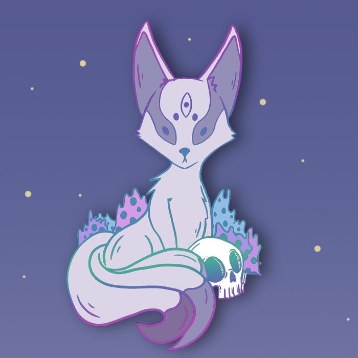 I Made A 'Fox Gods & Friends' Pin Campaign