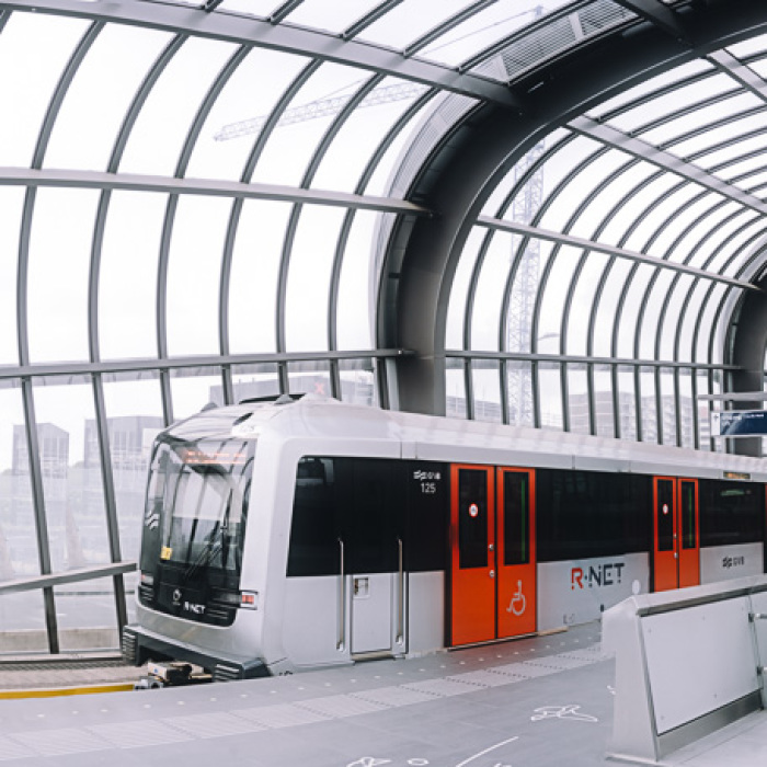 The All New North South Metro Line Of Amsterdam