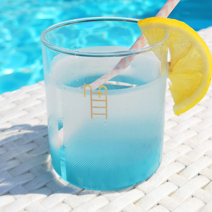These Little Pool Glasses Bring Summer To Your Home All Year Round