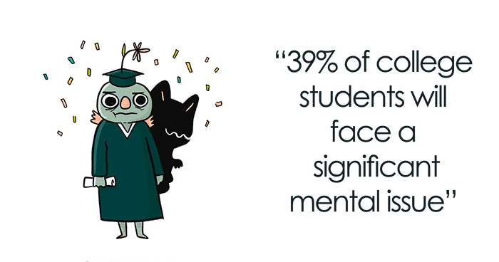 I Did 14 Adorable Illustrations That Share Important Facts About Mental Health