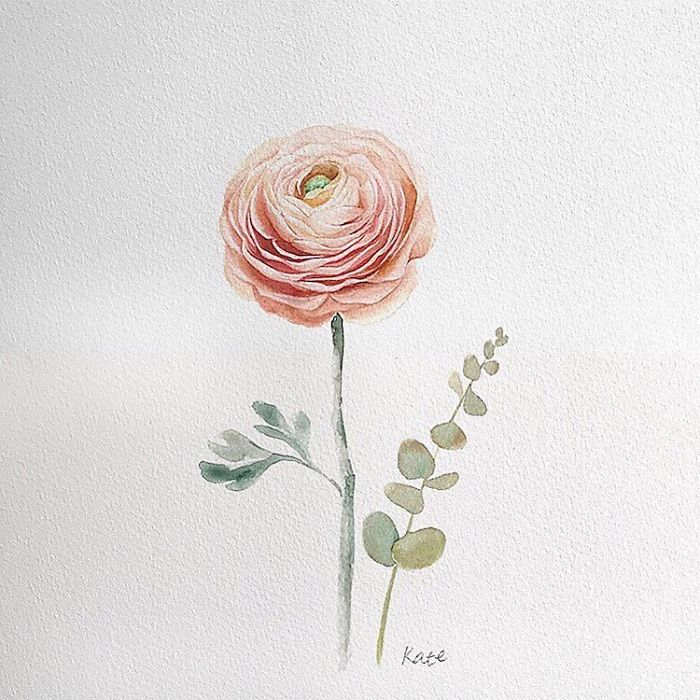 Korean Artist Uploads Step By Step Tutorials On How To Draw Beautiful Flowers