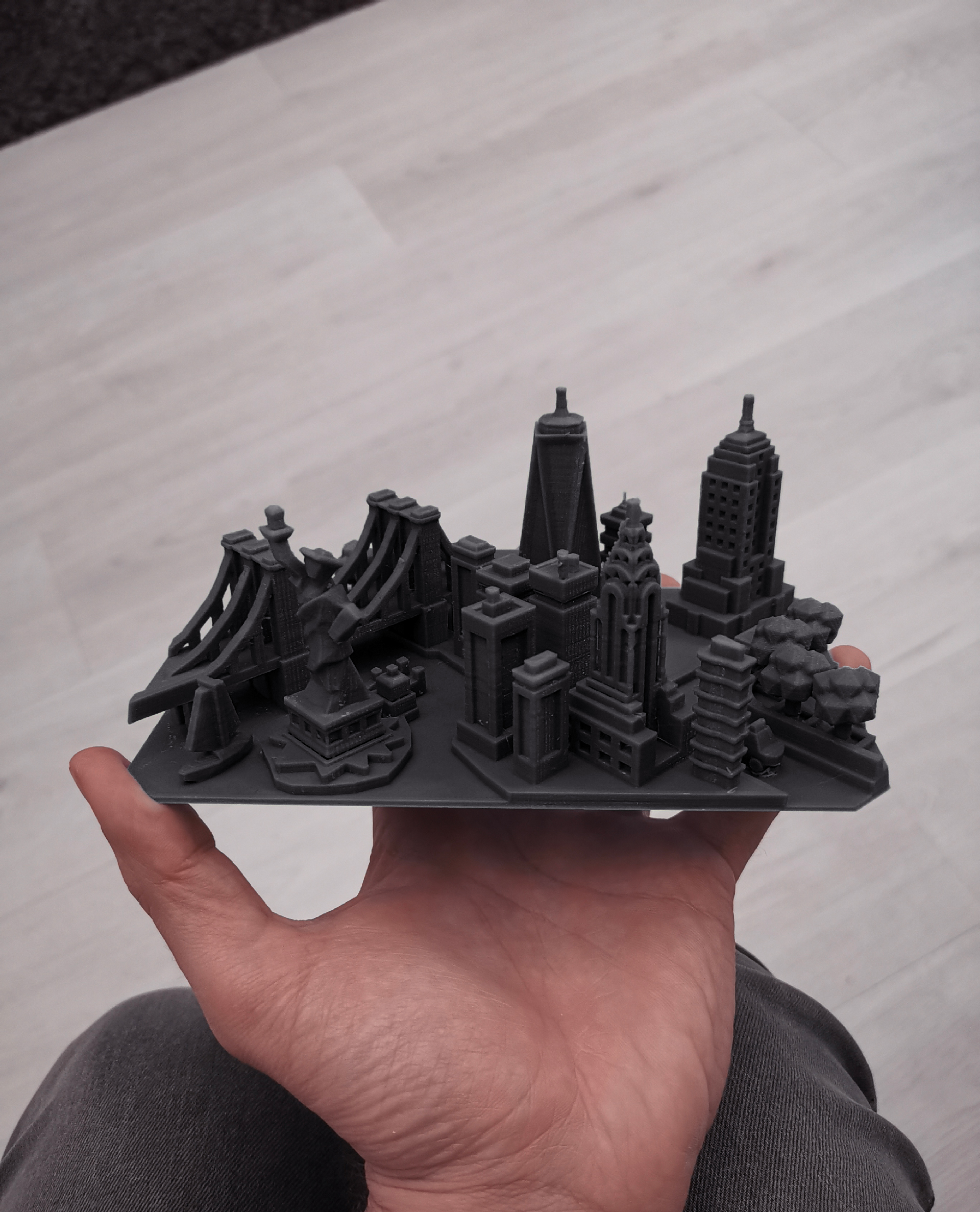 How I Designed And Made A City Ring