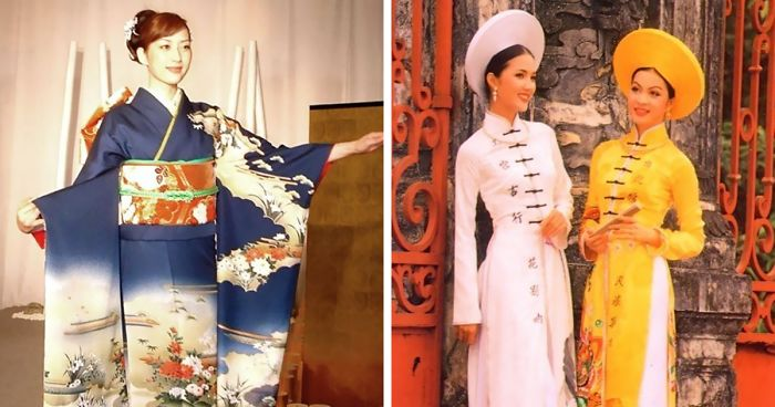 Tumblr User Clarifies The Difference Between Traditional Women's Clothes In East Asia