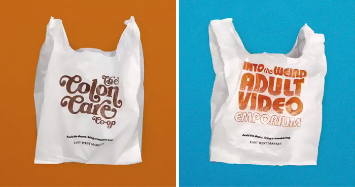 Vancouver Grocery Store Is Giving Out Embarrassing Plastic Bags To Remind Customers To Bring A Reusable