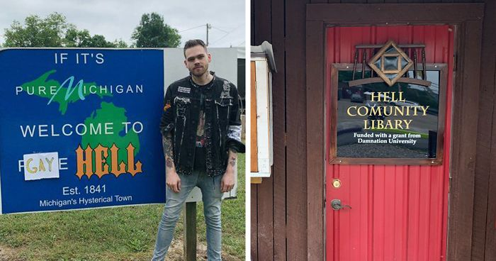 "This Guy Bought An Entire Town And Renamed It ""Gay Hell"" To Protest Trump's Ban Of Pride Flags On Embassies"