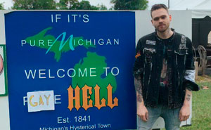 "This Guy Just Bought A Town In Michigan And Renamed It ""Gay Hell"""