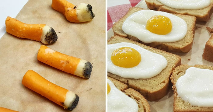 28 Times People Got Seriously Confused By This Chef's Desserts (New Pics)