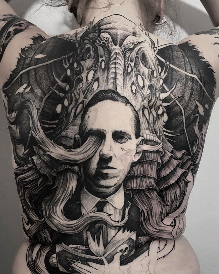 148 Amazing Full Back Tattoo Designs