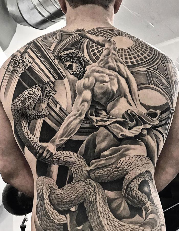 Amazing Back Ink