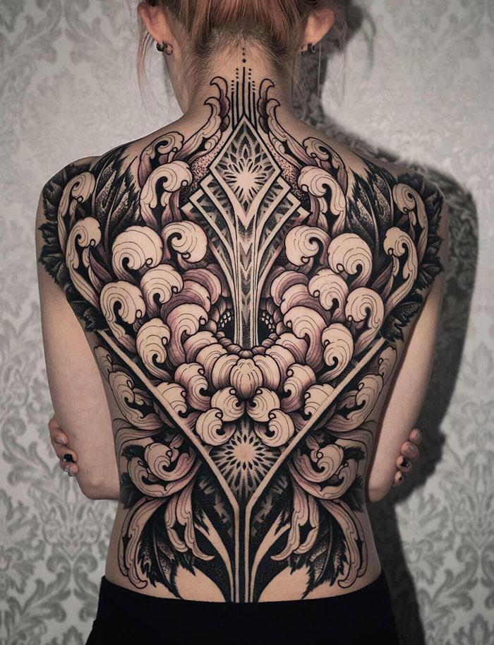 Back Ink Masterpiece