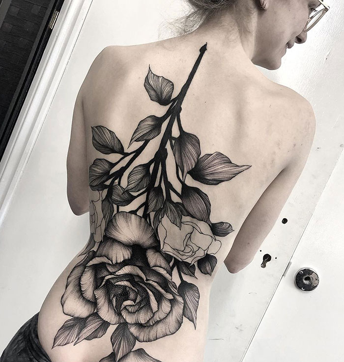 30 Impressive Back Tattoos That Are Masterpieces Bored Panda