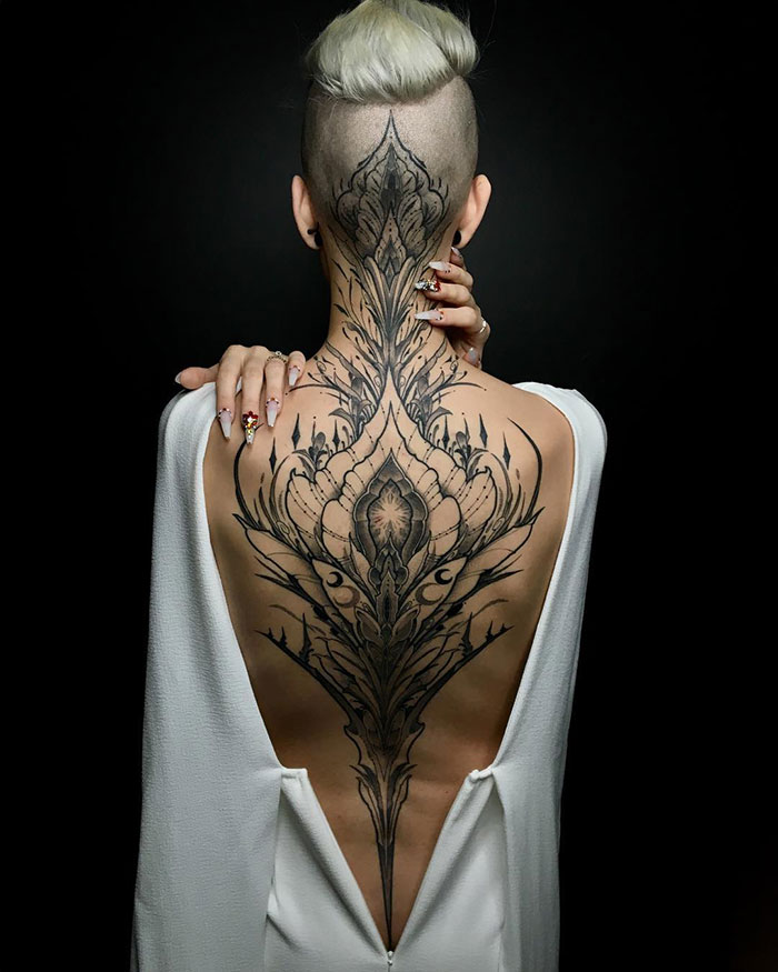 Incredible Back Tattoo