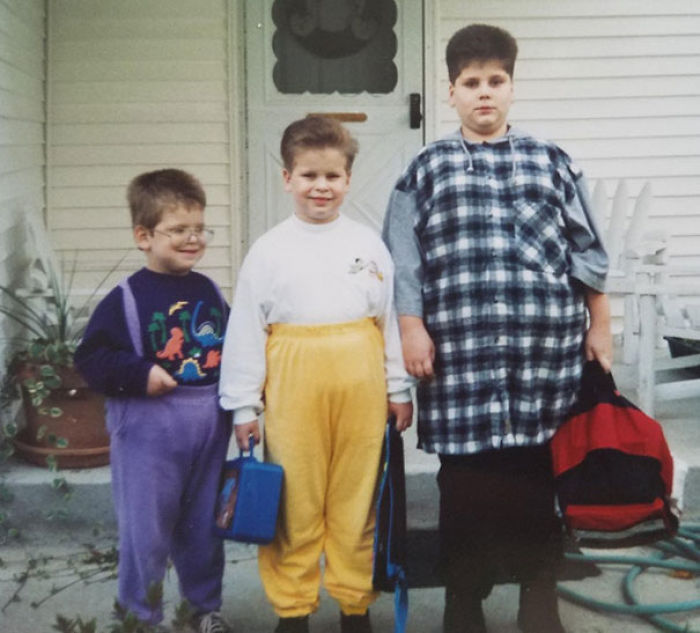 The Blunder Brothers, Circa 1994. I'm In Purple