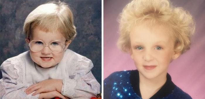 30 Embarazosas fotos de la infancia con niños que parecen mucho más viejos