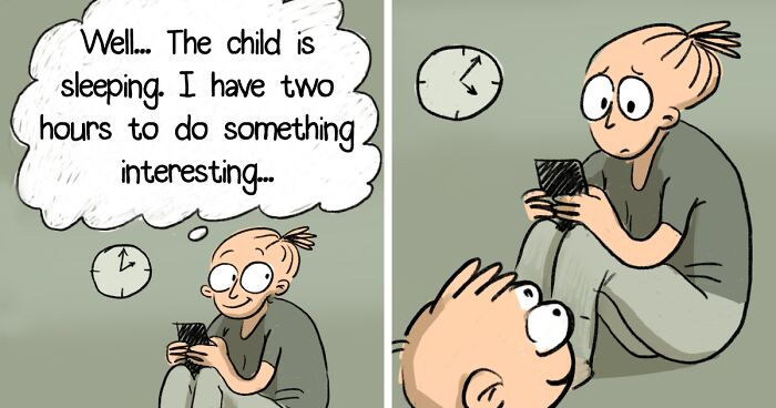 My Son Turned My Life Upside Down, I Illustrate It In 20 Honest And Funny Comics