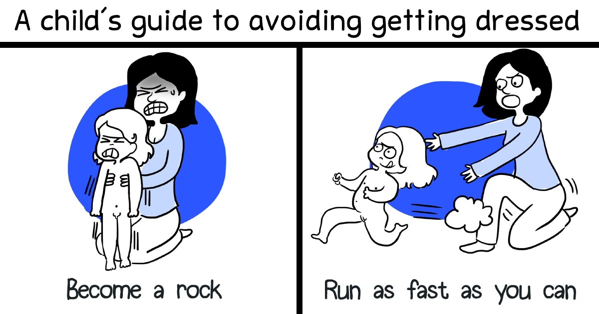 I Illustrate Every Parent's Life In Comics