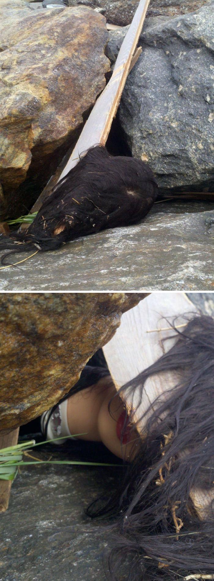"""Vimos una """"cabeza"""" en la playa tras el huracán Sandy"""