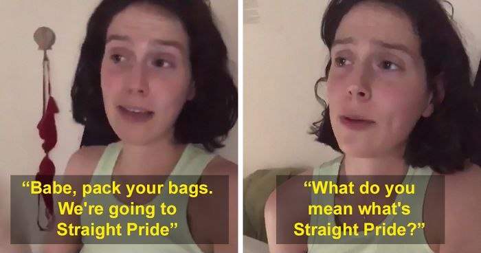 c87fe009d78 People Are Loving This Woman's Video About What Preparations For 'Straight  Pride' Would Look Like