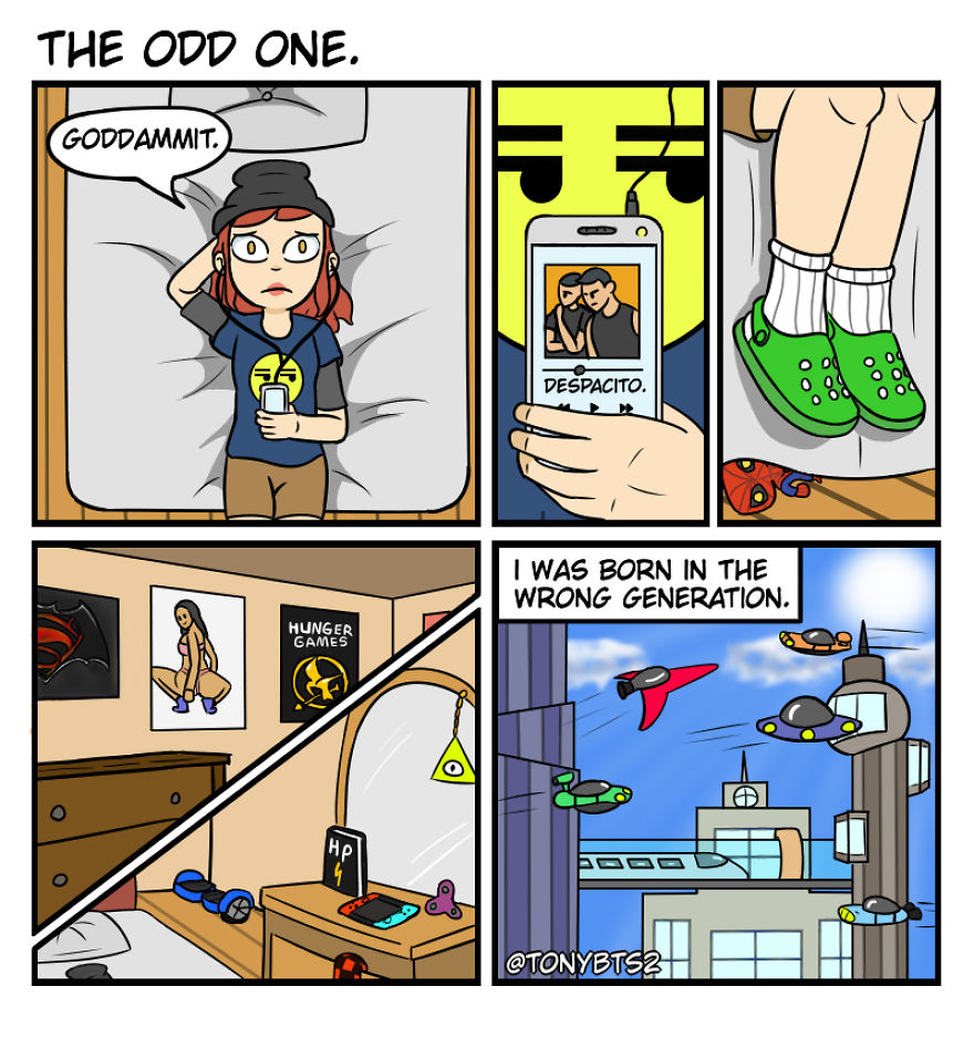 I Create Comics With An Unexpected Twist (15 Pics)