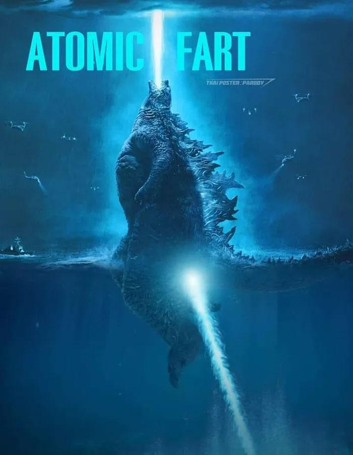 Webcomic Creator Proves How Godzilla Stood in 12 100ft Deep